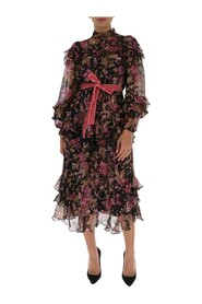 Lucky Mulberry Floral tiered dress