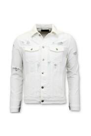 Denim jacket - Ripped Denim