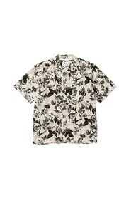 Carsten floral print short sleeves shirt
