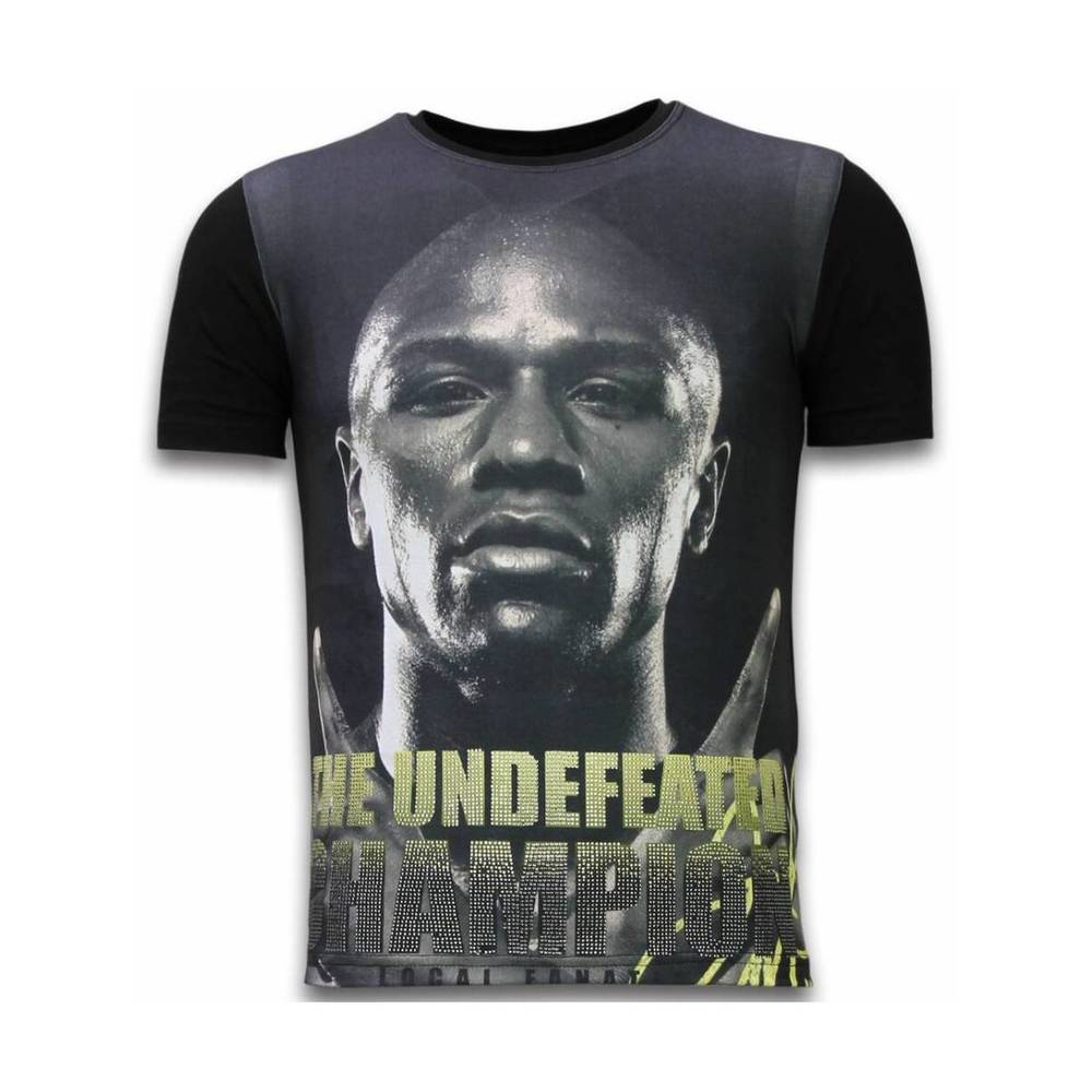 Den Undefeated Champion – Digital Rhinestone T-shirt