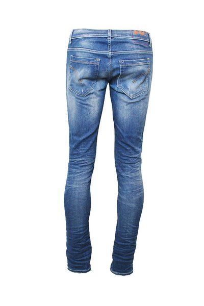 800 Blue George Slim Jeans | Dondup Jeansy Fit