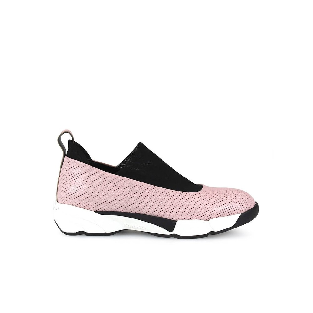 MAGNOLIA 4 PERFORATED LEATHER SNEAKERS