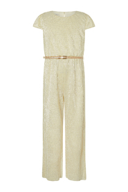 Shimmer Jersey Girl Party Playsuit