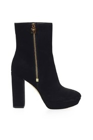FRENCHIE PLATFORM ANKLE BOOTS