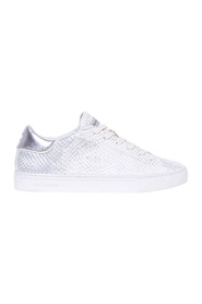 Sneaker in python print leather