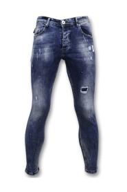 Broek met Vlekken Skinny Jeans