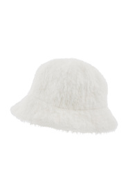 Fluffy Bucket Hat Acc Hats Casual Fabric
