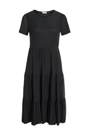 Midi dress Short sleeved ruffle