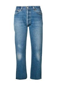 Jeans High Rise Stove Pipe denim