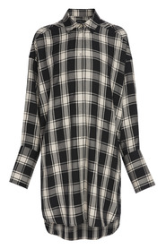 Parker Check Shirt Dress