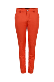 Orange Soft Rebels Tinka 7/8 chinos