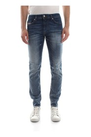 DIESEL THOMMER JEANS Men DENIM MEDIUM BLUE