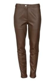 Skinn bukse