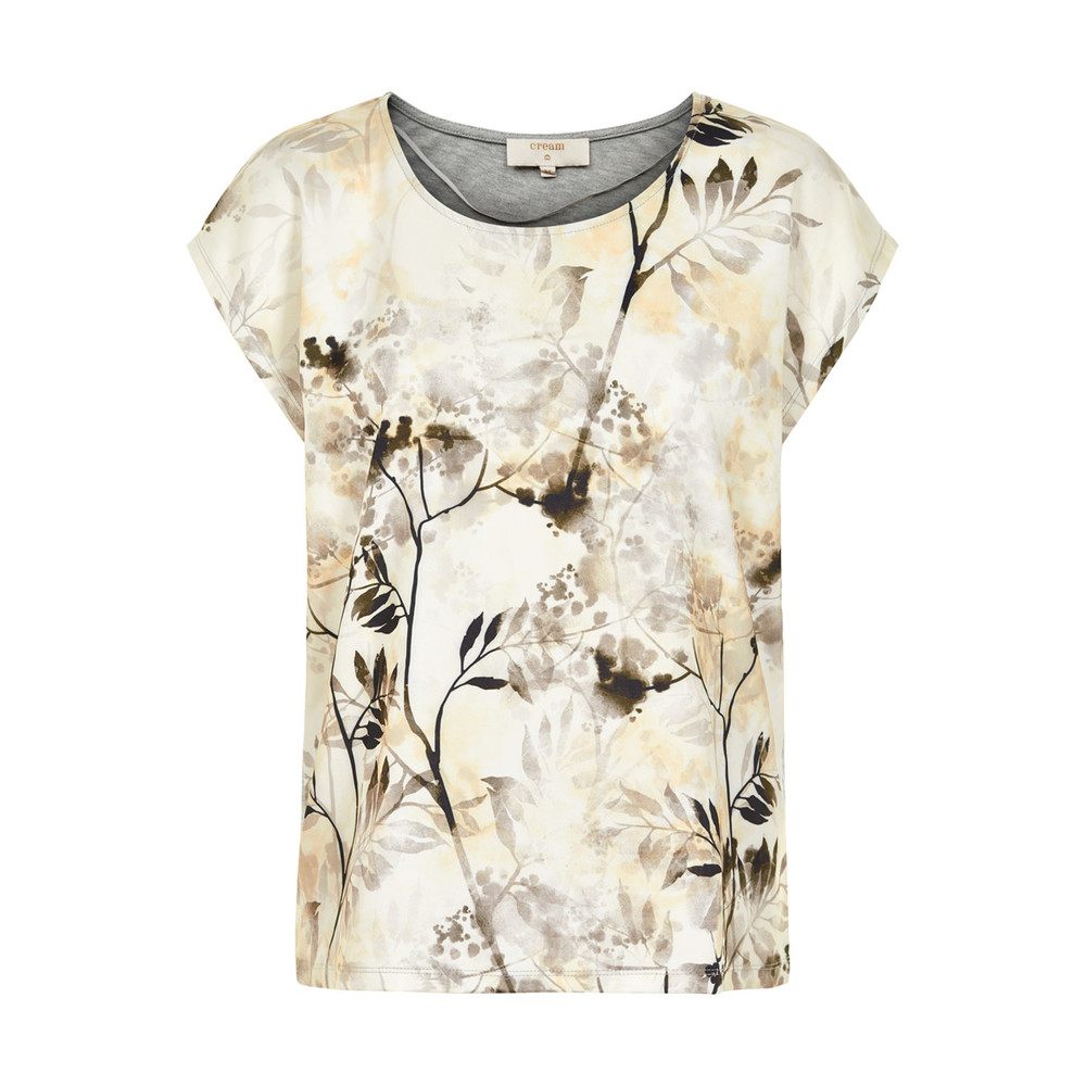 CREAM NORA T-SHIRT