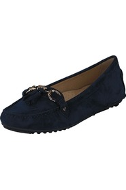 Novita Loafers Suede Navy