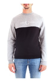 FRED PERRY M7519 Sweat Men GREY
