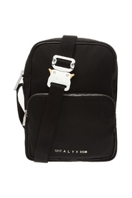 Shoulder bag with logo