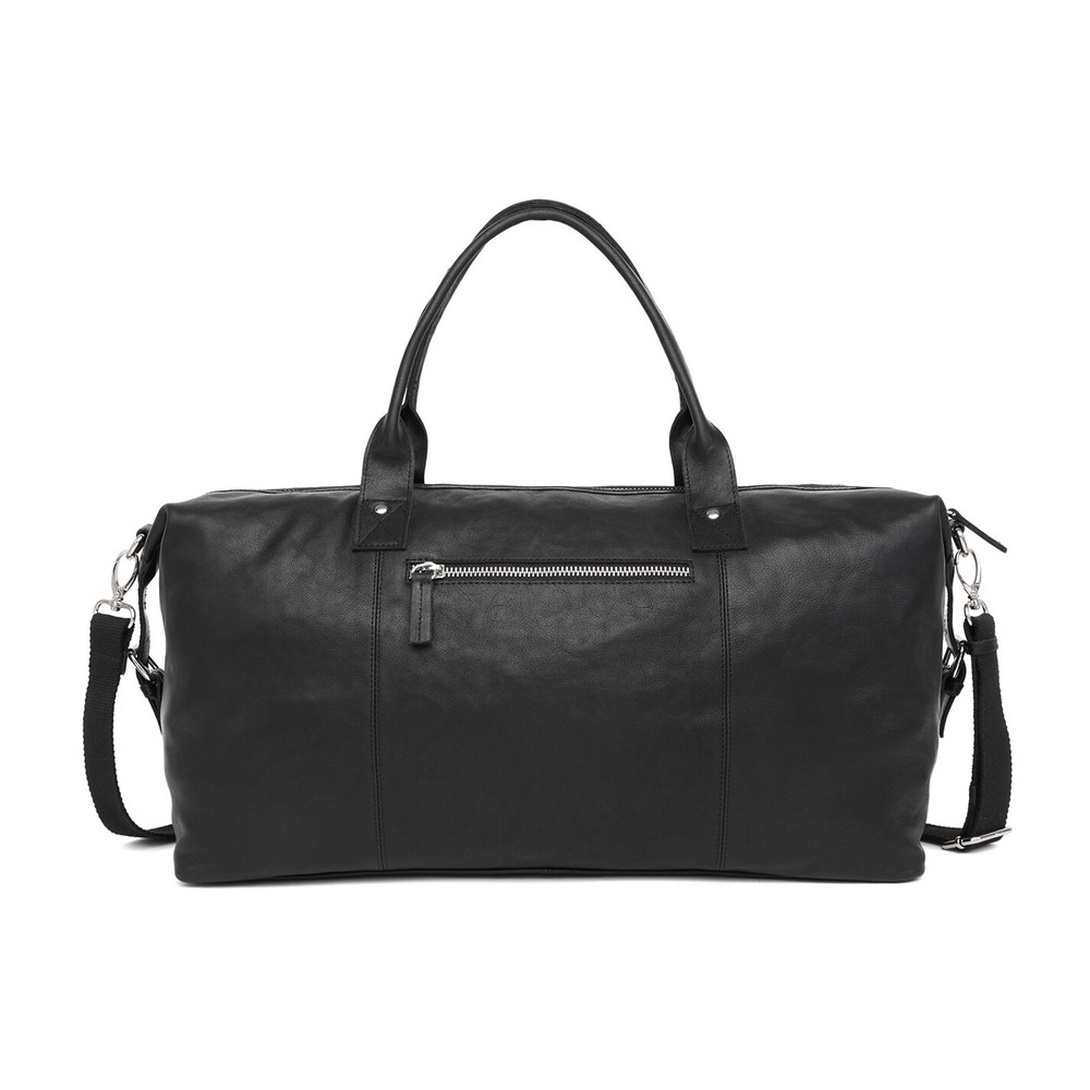 Black Catania Lasse weekend bag | Adax | Weekendtassen | Herentassen