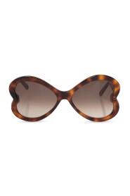 Logo-embossed sunglasses