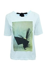 T-Shirt With Print X Ruth Van Beek Collaboration -Pre Owned Condition Very Good