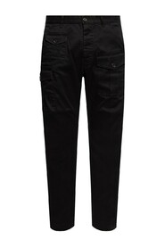 Cotton Twill Sexy Cargo Trousers