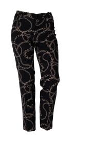 Cambio kvinners bukser lange bukser Metallic