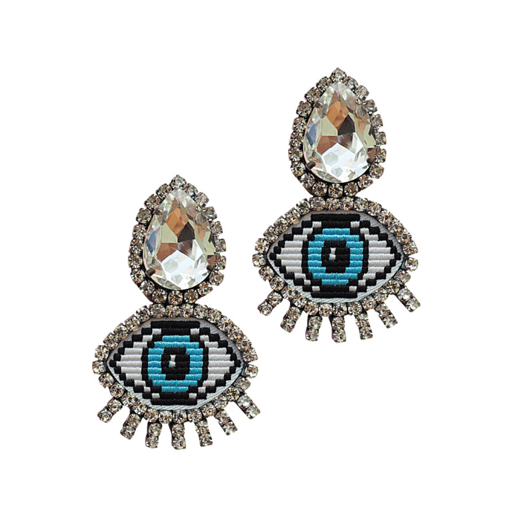 Fatimas Eye Earrings