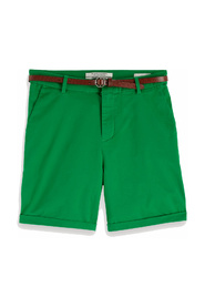 149978 longer length chino shorts, sold with a belt