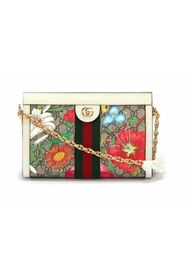 Small GG Flora Ophidia Crossbody Bag in multicolor coated/waterproof canvas