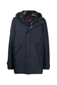 Parka with hook