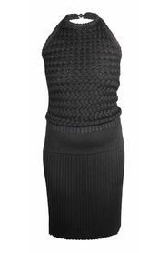 Backless Knit Dress