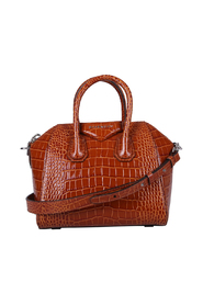Antigona crocodile print bag