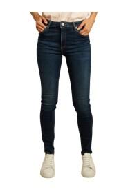 Arnel high waist skinny raw jeans