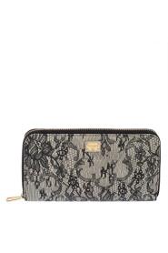Lommebok i glidelås med glidelås