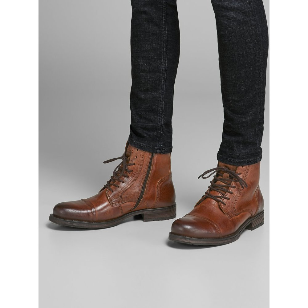 Jack & Jones Brown Boots Jack & Jones