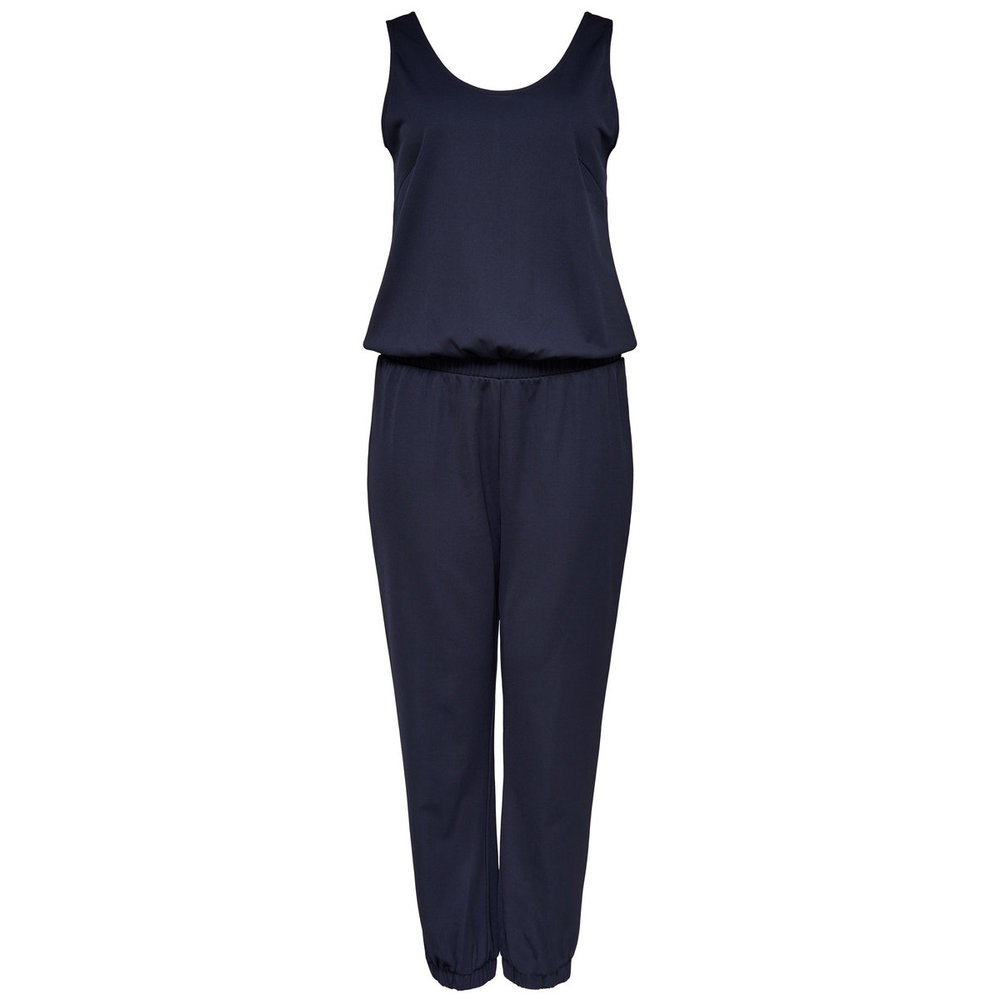 Jumpsuit Curvy mouwloos