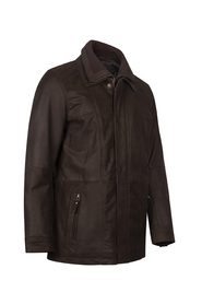 BUFFALO LEATHER PARKA