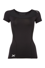 Sort 2XU Compression T-skjorte