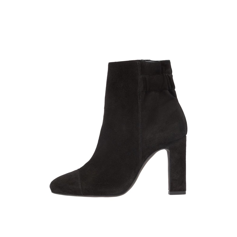 Ankle boots Thick heeled Suede