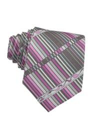 Printed Silk Skinny Tie