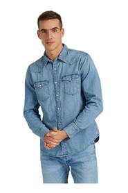 LEVIS 85744 0001 BARSTOW SHIRT Men DENIM LIGHT BLUE
