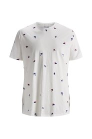 Plus size T-shirt All-over printed