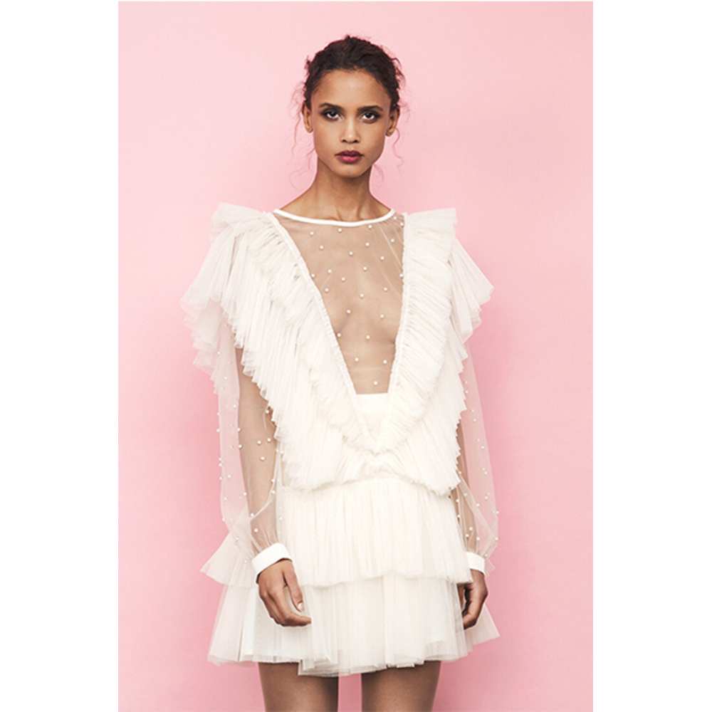White Natasha Dress | Ida SjöStedt | Festklänningar | Miinto.se