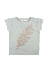 Small Rags - T-shirt, Ella (60442) - Aqua Gray