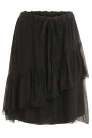 Coster Copenhagen - Skirt with elastic and wide drawstring - Black