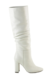 Leather High Heel Boots
