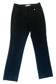 Suit style wool trousers