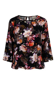 Blomstrete Carla F Flower bluse