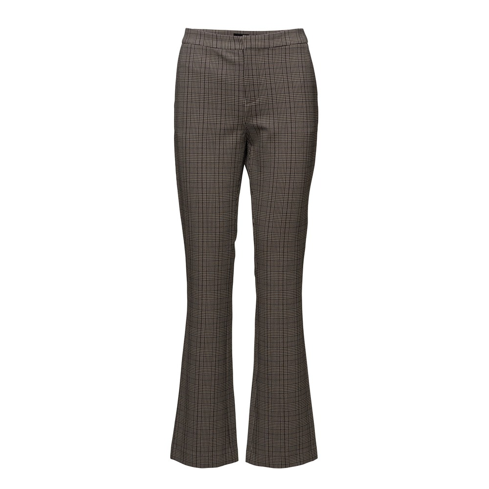 2NDDAY 2ND Create Checked Pant Driftwood