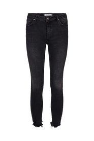 High Rise Skinny Side Details Jeans